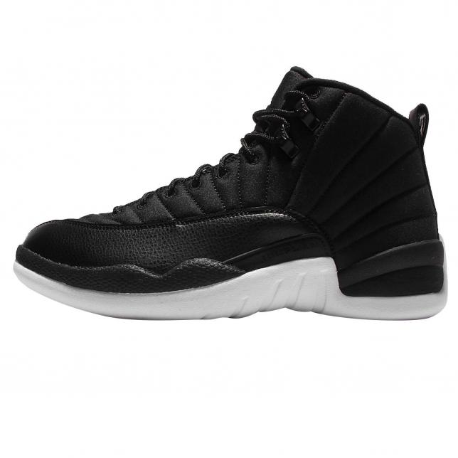 Air Jordan 12 - Black Nylon (Neoprene