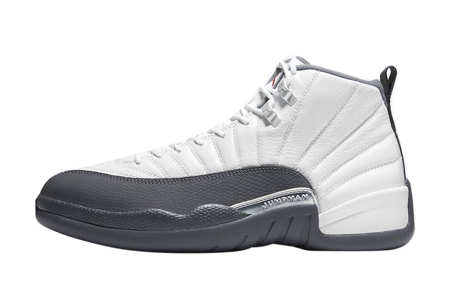 white and gray air jordans