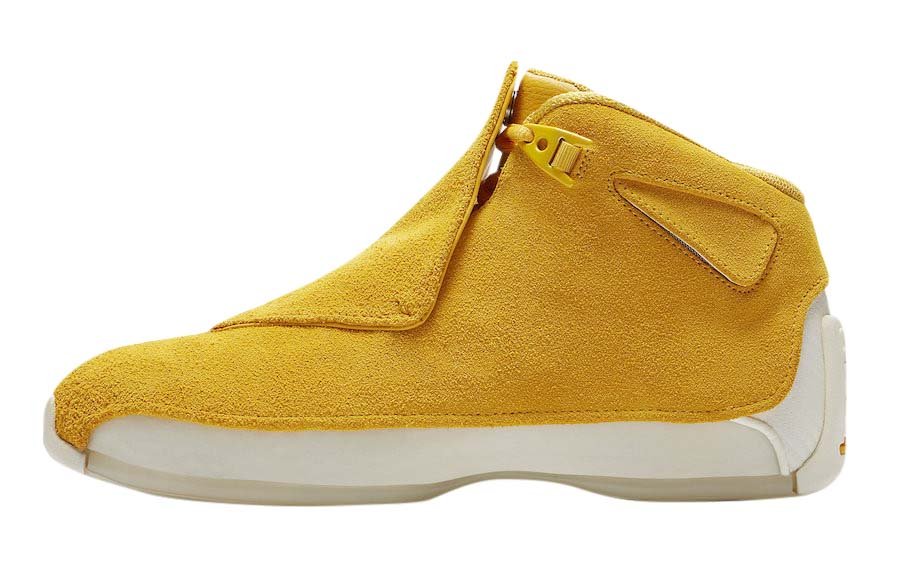 BUY Air Jordan 18 Yellow Suede | Kixify