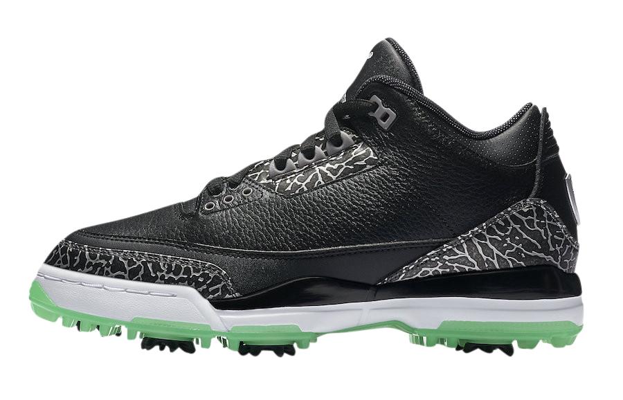 Air Jordan 3 Golf Green Glow - KicksOnFire