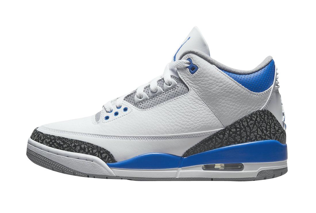 Air Jordan 3 Racer Blue