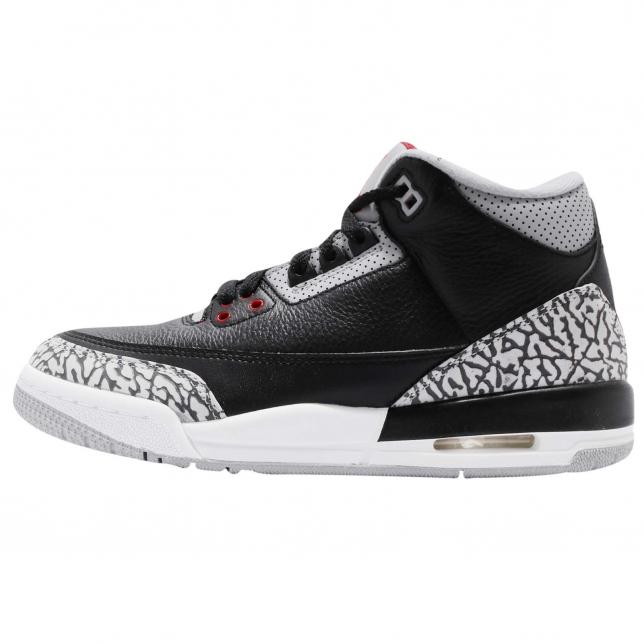 Air Jordan 3 Retro Og Gs Black Cement 2018