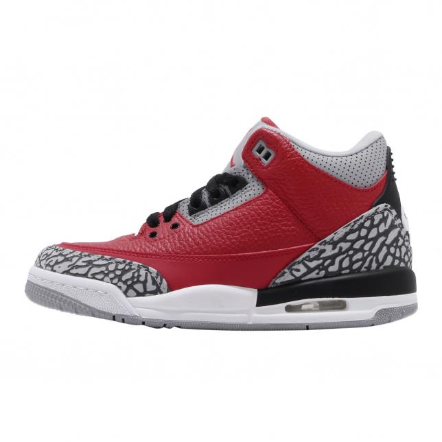 Air Jordan 3 Se Gs Unite (red Cement Chicago All Star)