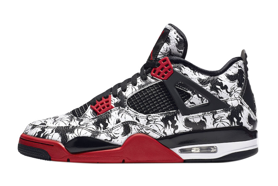 confirmar Detallado Colibrí  BUY Air Jordan 4 Tattoo | Kixify Marketplace