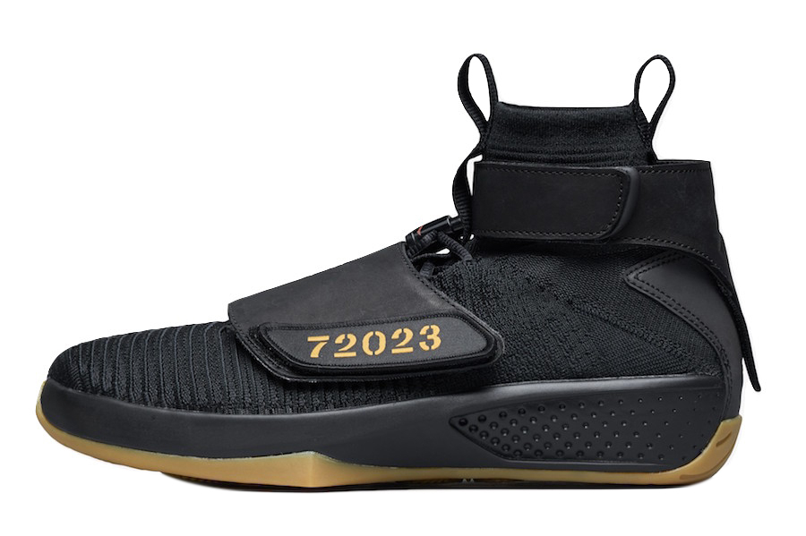Bone Air Jordan 20 Flyknit Black