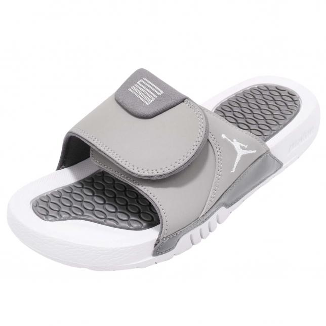 Jordan Hydro 11 Retro Slide Gs Medium Grey
