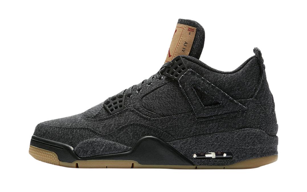 BUY Levi's X Air Jordan 4 Black Denim