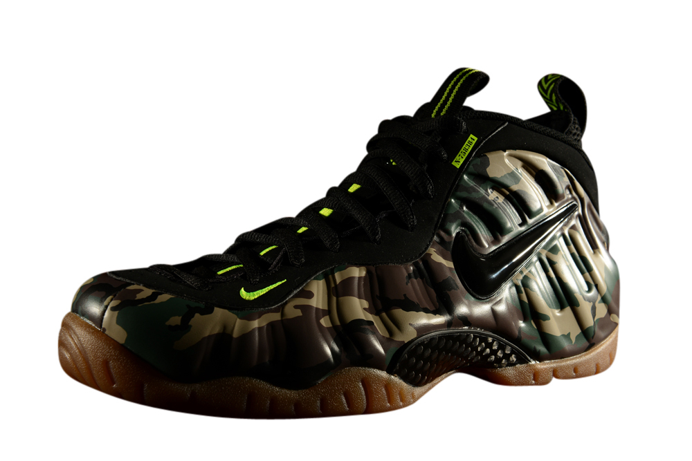 NIKE AIR FOAMPOSITE ONE PRM ABALONE image portrait ...