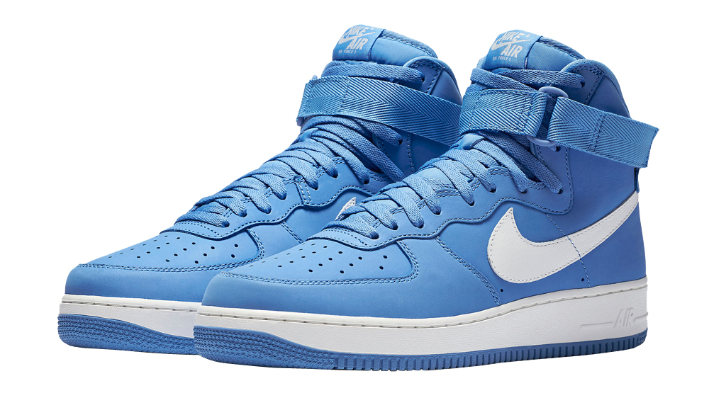 nike air force 1 high top blue