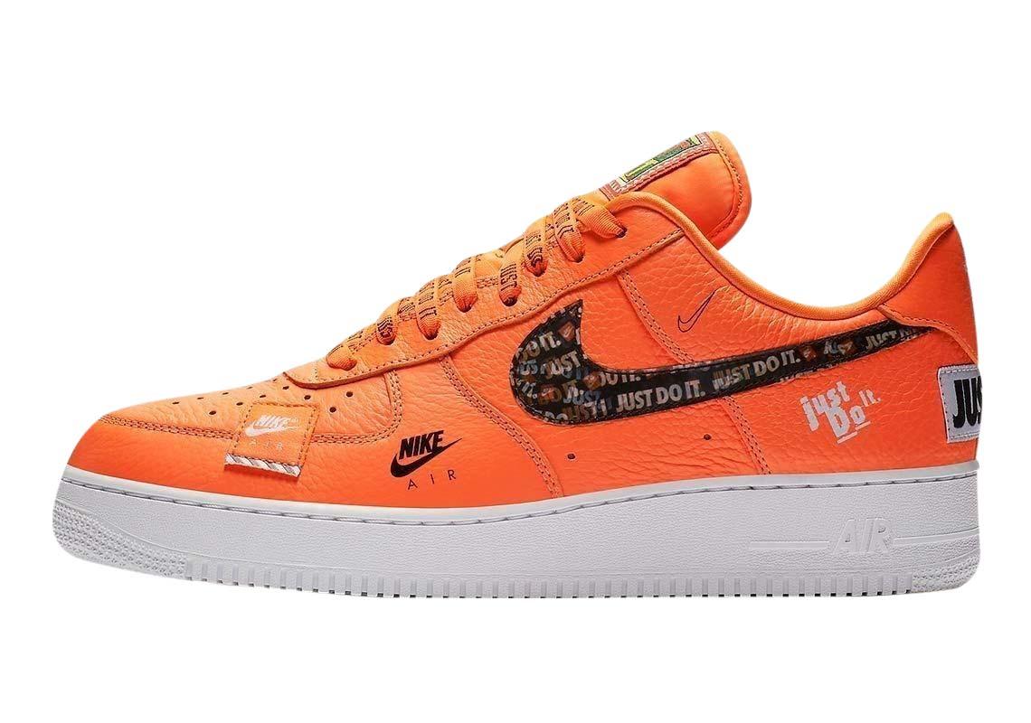 BUY Nike Air Force 1 Low Premium Just Do It Orange | Kixify ...