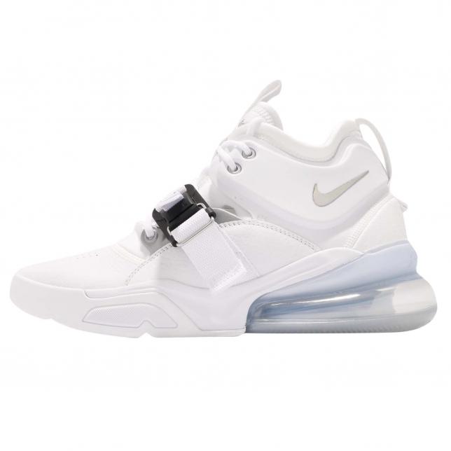 BUY Nike Air Force 270 White Metallic