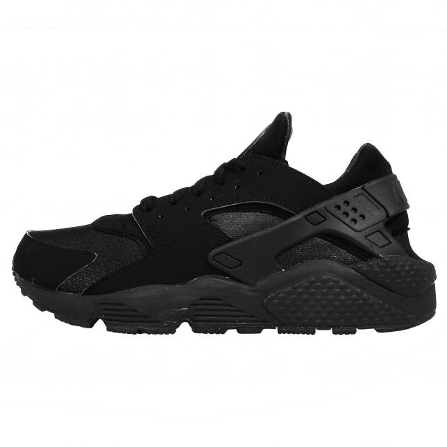 BUY Nike Air Huarache Triple Black