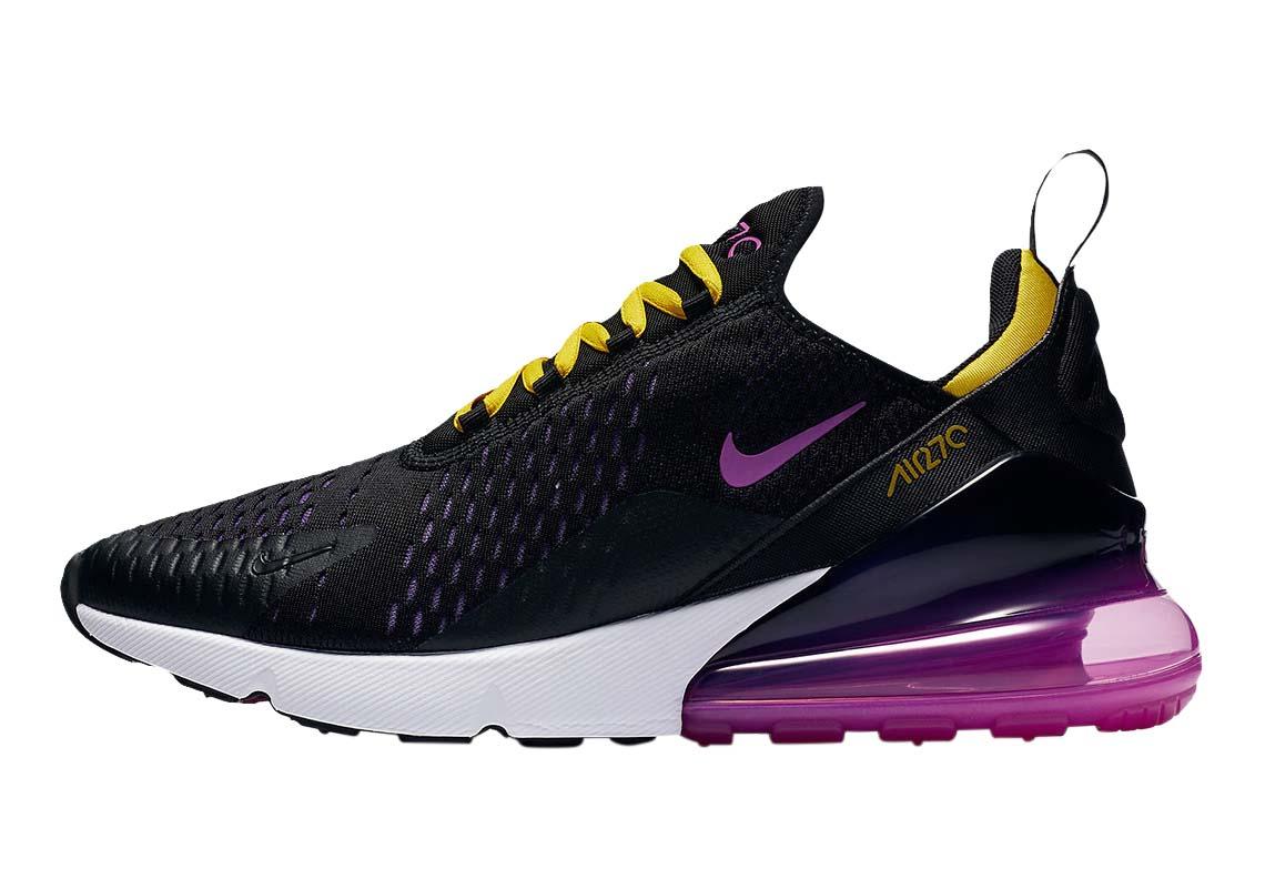 BUY Nike Air Max 270 Black Hyper Grape