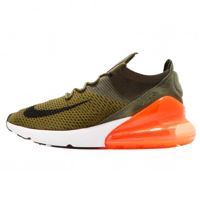BUY Nike Air Max 270 Flyknit Olive Flak