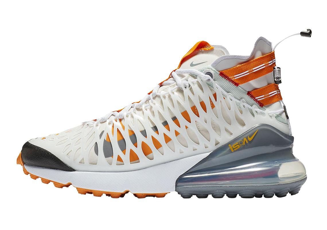 BUY Nike Air Max 270 ISPA White Amber