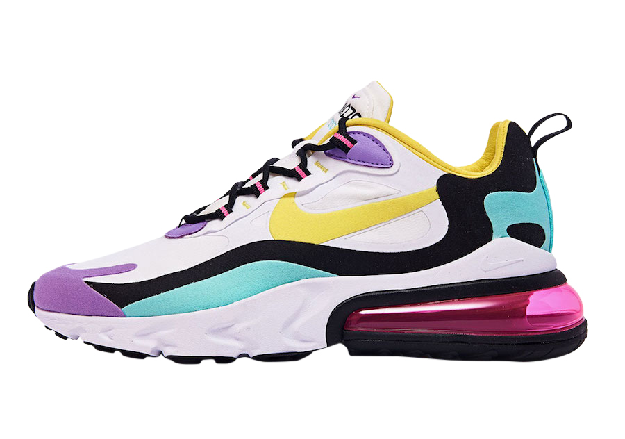 Nike Air Max 270 React Bright Violet Kicksonfire