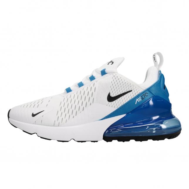 Nike Air Max 270 White Black Photo Blue Kicksonfire