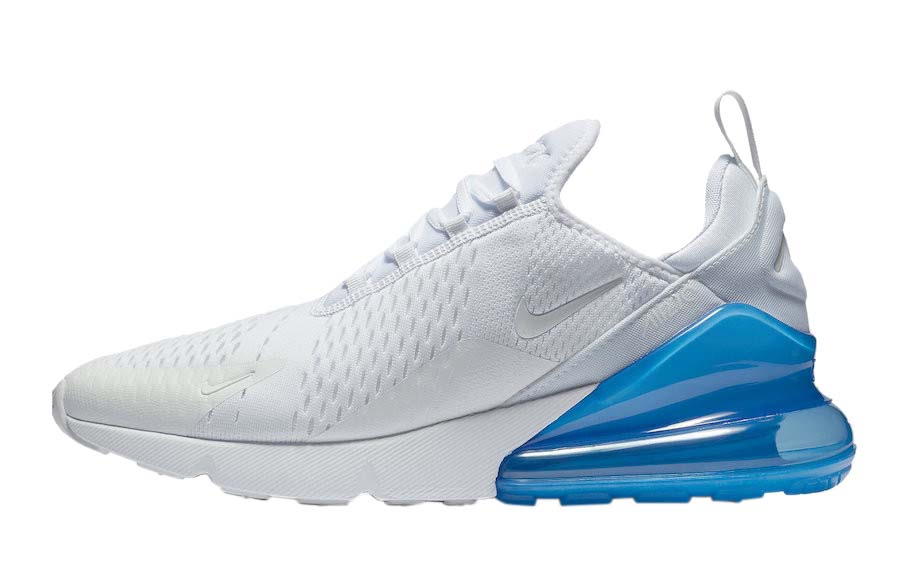 air max 270 bianco blu