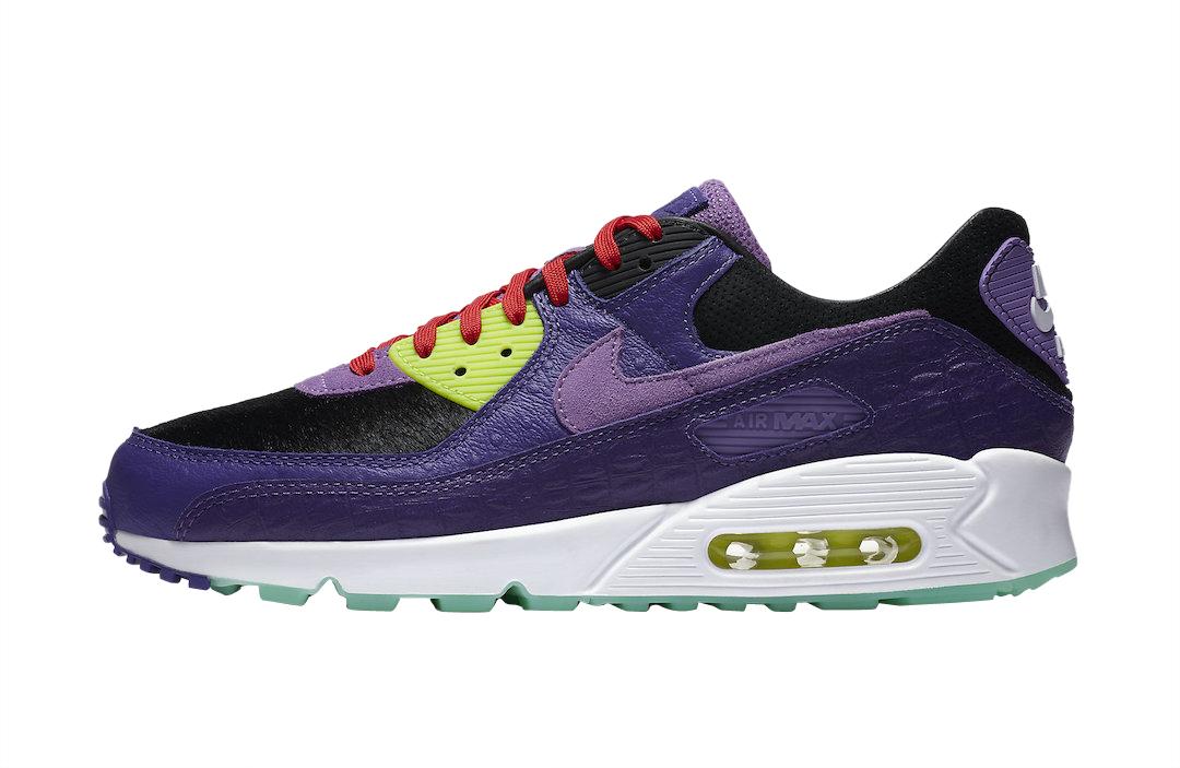 Nike Air Max 90 Violet Blend CZ5588-001 - KicksOnFire.com