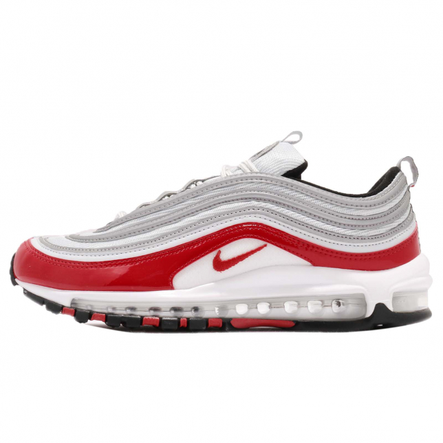 Nike Air Max 97 Pure Platinum University Red Kicksonfire