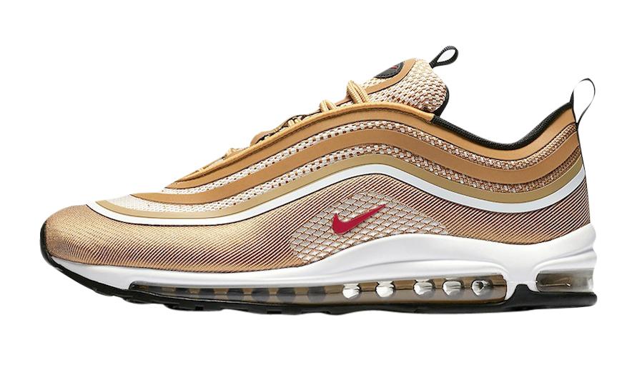 Nike Air Max 97 Ultra 17 Metallic Gold 918356-700 - KicksOnFire.com