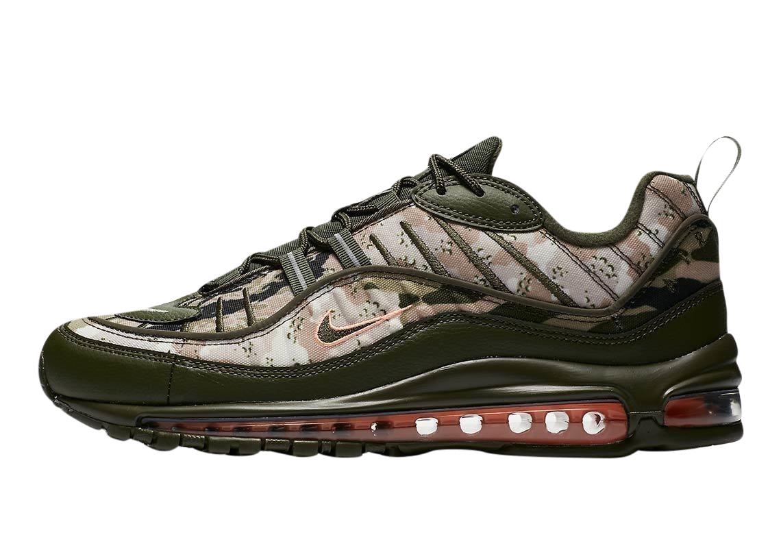 BUY Nike Air Max 98 Camo Classic Cargo