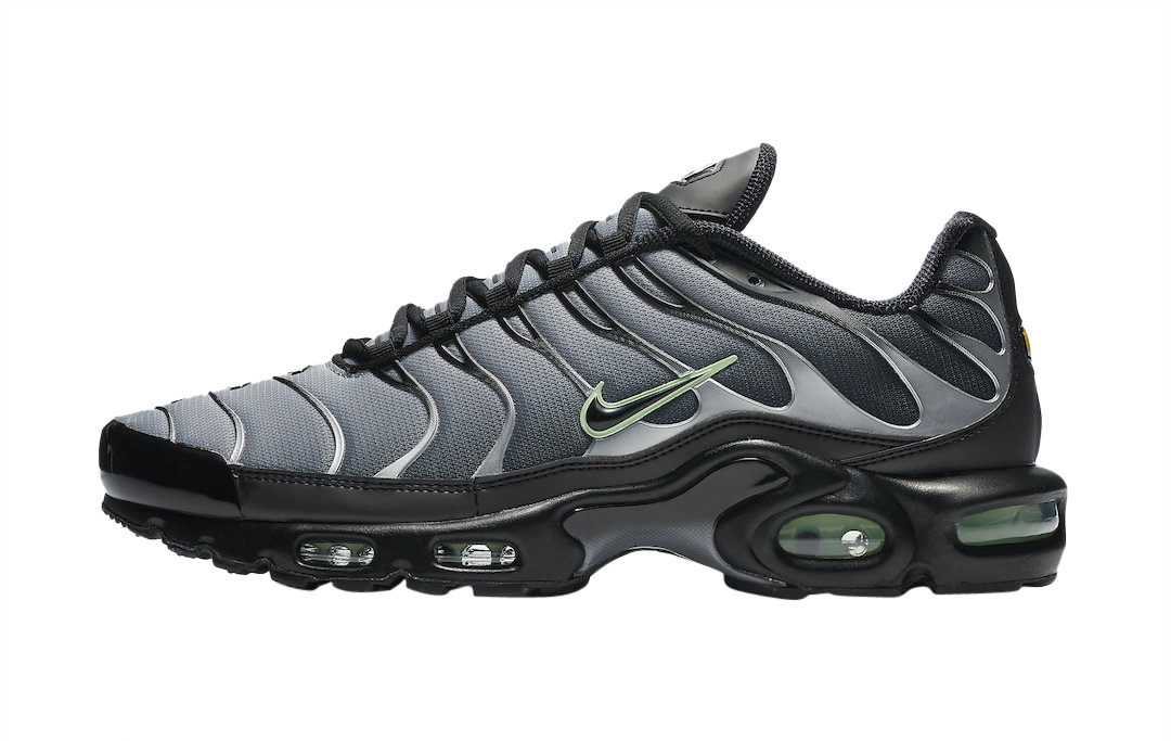 Buy Nike Air Max Plus Black Particle Grey Vapour Green Kixify