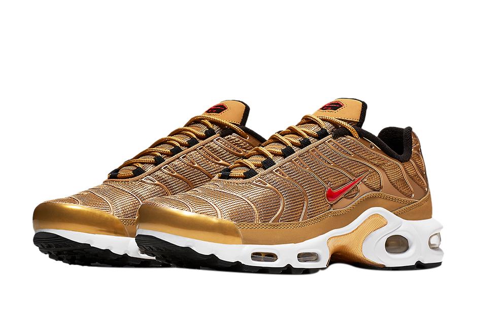 BUY Nike Air Max Plus Metallic Gold