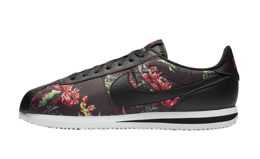 BUY Nike Cortez Black Floral