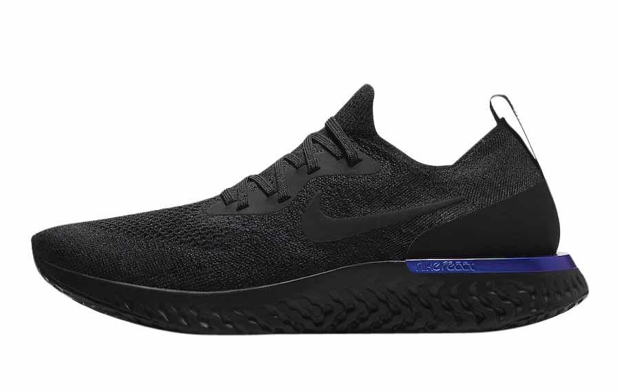 Nike Epic React Flyknit Black Racer
