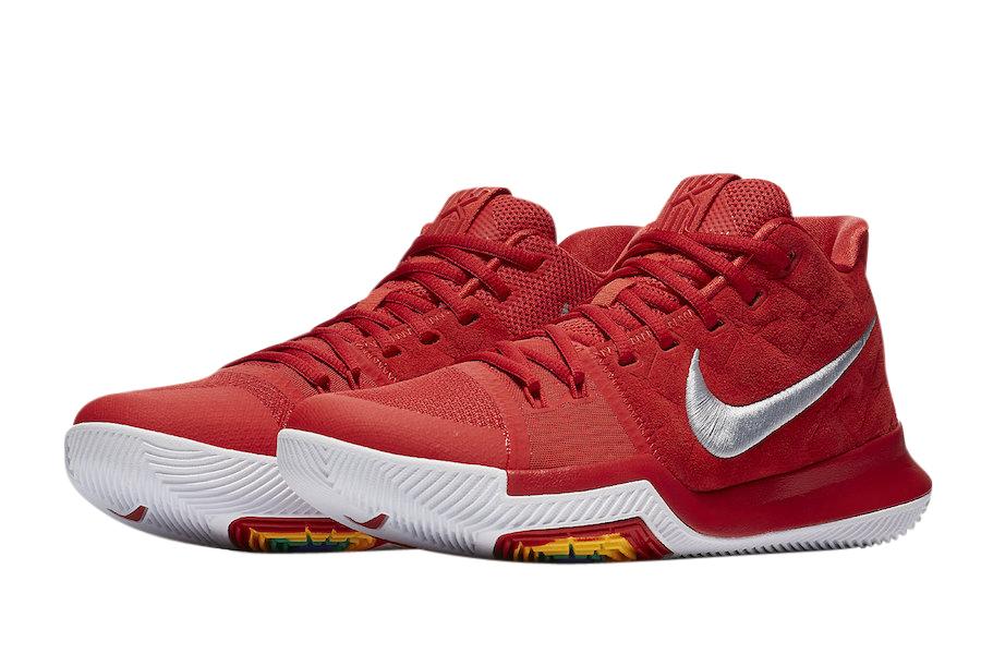 BUY Nike Kyrie 3 University Red Suede