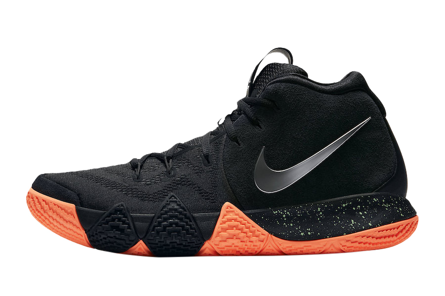 kyrie 4 black and pink