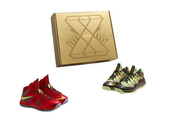 BUY Nike Lebron 10 Celebration Pack