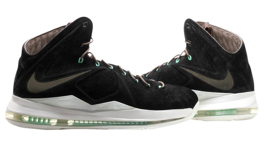 BUY Nike LeBron 10 EXT QS - Black Suede