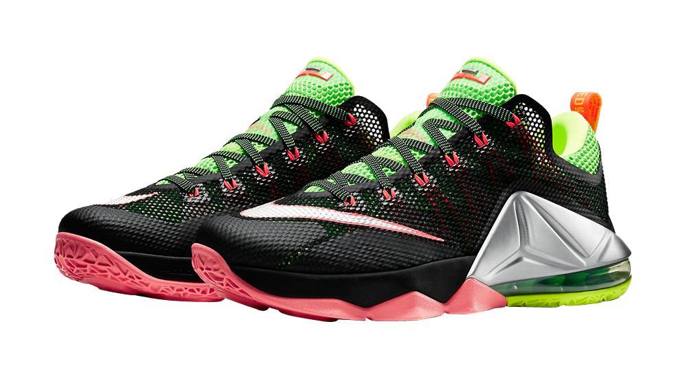 BUY Nike LeBron 12 Low - Black