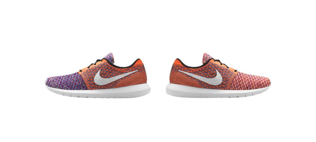 Nike Roshe Run Flyknit - Multi-Color
