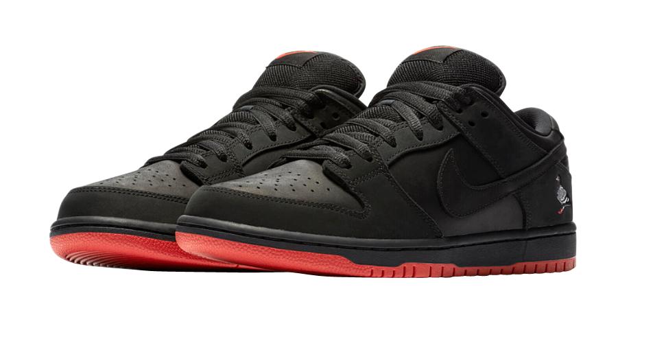 BUY Nike SB Dunk Low Black Pigeon