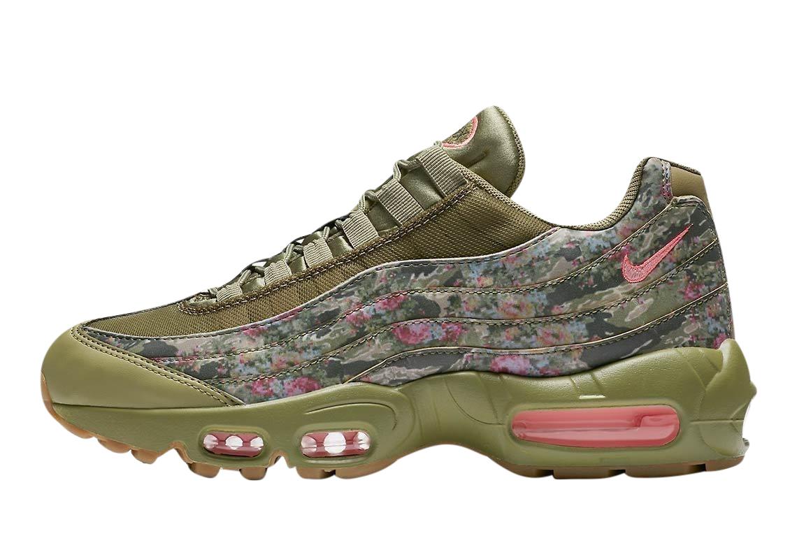 BUY Nike WMNS Air Max 95 Floral Camo