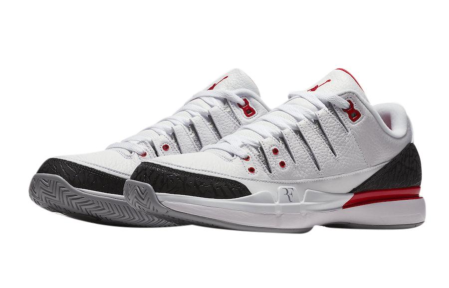 BUY Nike Zoom Vapor RF AJ3 Fire Red