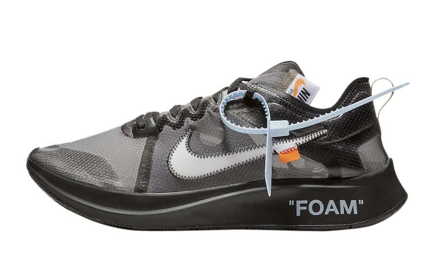 BUY OFF-WHITE X Nike Zoom Fly SP Black
