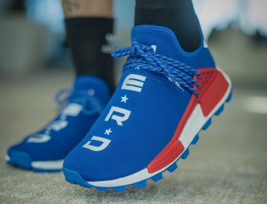 BUY Pharrell X Adidas NMD Hu NERD Blue