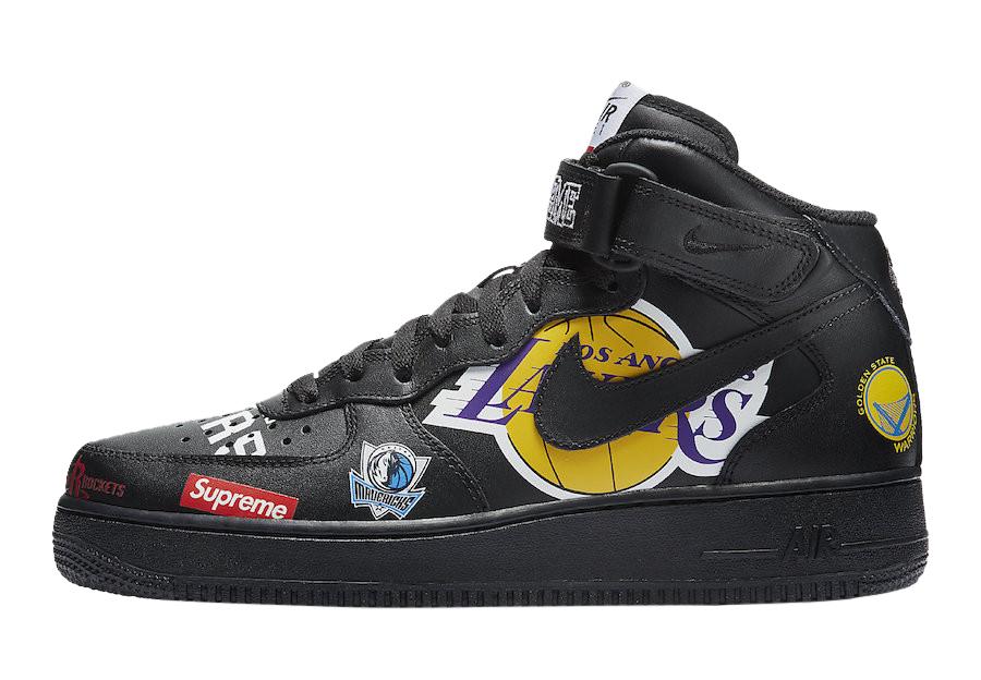 BUY Supreme X NBA X Nike Air Force 1
