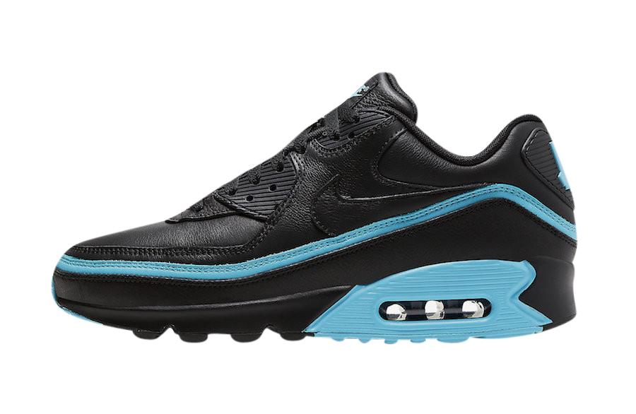 air max 90 black and blue