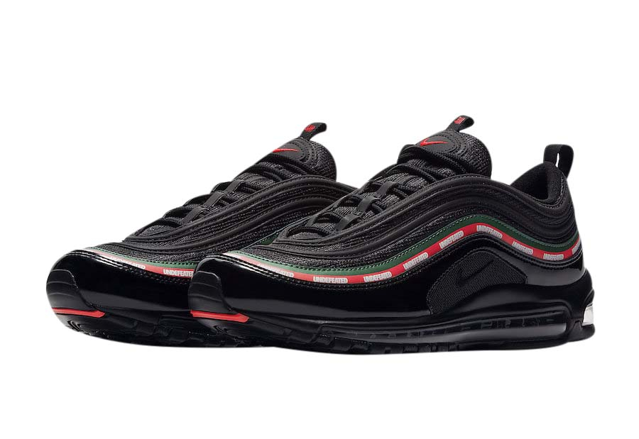Limo Proporcional golpear  BUY Undefeated X Nike Air Max 97 Black | Kixify Marketplace